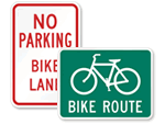 Bike Trail Signs