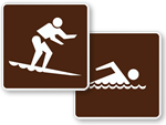 Water Recreation Signs (RW Series)