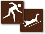 Winter Sports Signs