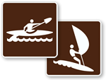 Water Sports Signs