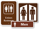 Campground Bathroom Signs