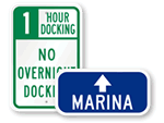 Lake & Marina Signs