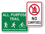 Free Campground Signs