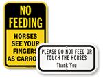 Do Not Feed Horses