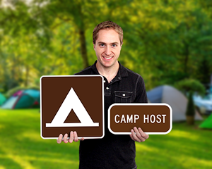 MUTCD Campsite Markers