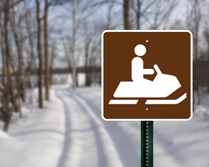 Winter Recreation Signs