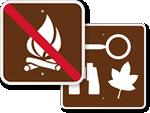 Park Services Signs