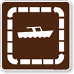 Boat Tours Symbol Sign For Campsite