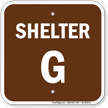 Shelter G Evacuation Assembly Area Sign