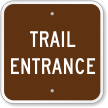 Trail Entrance Sign