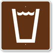 Drinking Water, MUTCD Guide Sign for Campground
