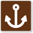 Marina, MUTCD Guide Sign for Campground