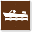 Motor boating, MUTCD Guide Sign for Campground