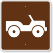 Off-Road Vehicle Trail, MUTCD Campground Guide Sign