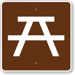 Picnic Site, MUTCD Guide Sign for Campground