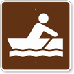 Row boating, MUTCD Guide Sign for Campground