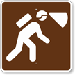 Spelunking or Caves, MUTCD Campground Guide Sign