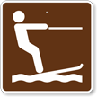 Water-skiing, MUTCD Guide Sign for Campground