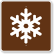 Winter Recreation Area, MUTCD Campground Guide Sign