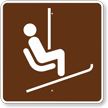 Chair or Ski Lift, MUTCD Guide Sign