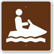 Jet Ski or Personal Watercraft, MUTCD Guide Sign