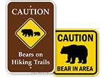 Bear Warning Signs