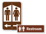 Bathroom Signs for Parks