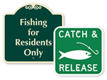 Fishing Signs