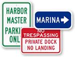 Marina Signs