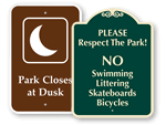 Park Signs