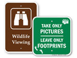Scenic View Signs