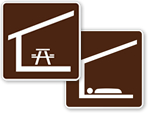 Campground Shelter Symbols