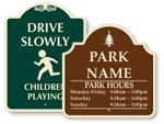 Designer Playground Signs