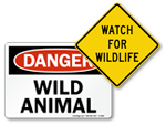 Wildlife Signs