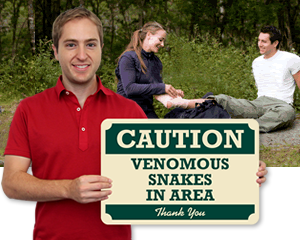 Campground Safety Signs