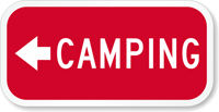 Campground Signs (6 Inch x 12 Inch)