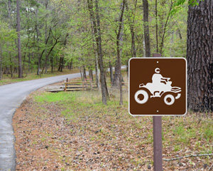 All-Terrain Vehicle Sign