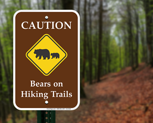 Caution Bears Signs