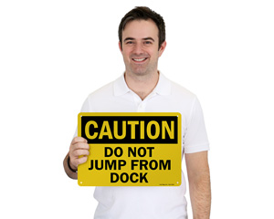 Do Not Jump From Dock