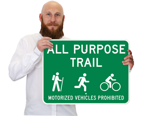 Share the Trail Signs
