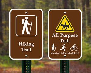 Trail Directional Signs