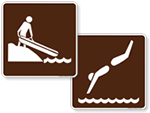 Land Recreation Signs