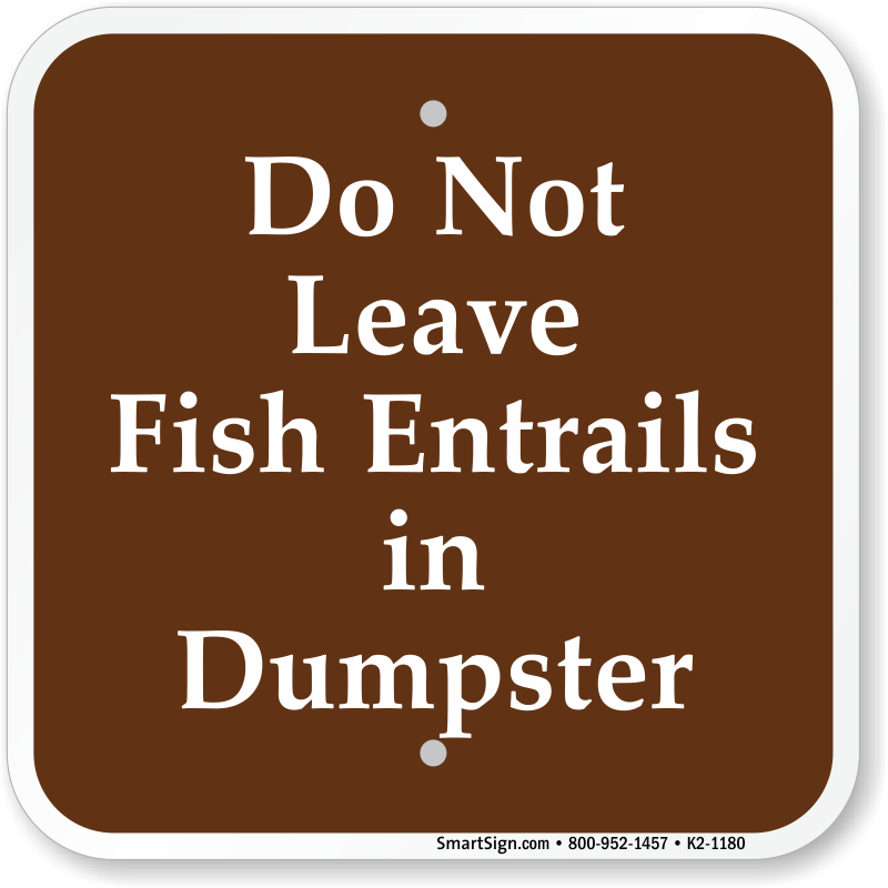 Dump station signs for Www plenty of fish sign in