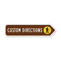 Add Your Custom Direction Right Arrow Sign