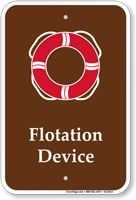 Flotation Device Pool Life Preserver Ring Symbol Sign