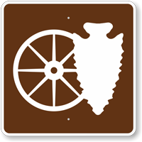 Cultural Interest Area, MUTCD Campground Guide Sign