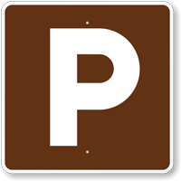 Parking, MUTCD Guide Sign for Campground