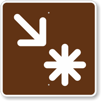 Point of Interest, MUTCD Campground Guide Sign