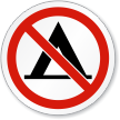 ISO Prohibition Circular Sign