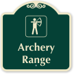Archery Range Signature Sign